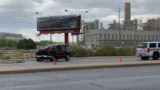 Westbound I-10 at Twin Peaks Road reopens after serious rollover