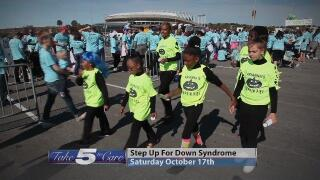 7fc07824 Take 5 to Care : Step Up for Down Syndrome Walk0:30